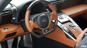 lexus lfa steering wheel four lexus lfas all together lexus enthusiast