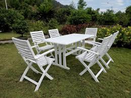 7 Piece Patio Dining Sets - beachcrest home bristol 7 piece patio dining set u0026 reviews wayfair