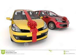 car ribbon car in ribbon gift royalty free stock image image 3598106