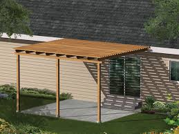Easy Patio Kelsey Patio Cover Plan 002d 3015 House Plans And More