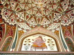 10 interesting facts about amber fort jaipur interior artwork inside the palace at amber fort