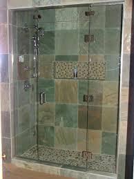 bathroom shower wall ideas bathroom 2017 glass shower door bathroom with green brown gray