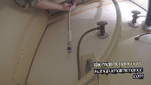 kitchen faucet wrench installing kitchen faucet supply lines with basin wrench
