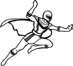 power rangers samurai coloring pages red free printable mighty