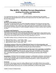 condominium association rationale for common area rules and