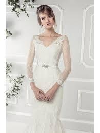 wedding dress with sleeves ellis bridals 11412a fish lace wedding dress with sleeves ivory