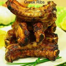 greek ribs art and the kitchen
