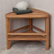 Teak Tub Caddy Bathroom Elegant Stylish Teak Shower Shelf For Bathroom Furniture
