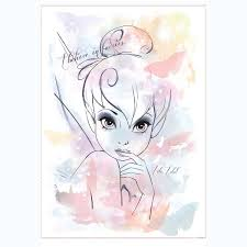 amazon com roommates rmk2377gm disney fairies i believe in amazon com roommates rmk2377gm disney fairies i believe in fairies tink watercolor graphic peel and stick giant wall decal home improvement