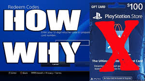 ps4 gift card how to fix unable to redeem code ps4 psn gift card not working