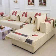 cotton sofa slipcovers slipcover for sectional sofas decorative and protective purposes