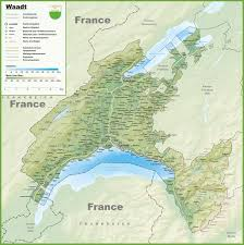 France Map With Cities by Canton Of Vaud Maps Switzerland Maps Of Canton Of Vaud
