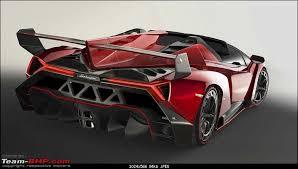 how much is a lamborghini veneno cost lamborghini veneno roadster for inr 32 6 crores team bhp