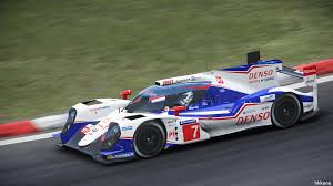 toyota hybrid project cars toyota ts040 hybrid gameplay youtube
