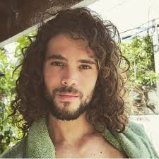 boys hair styles for thick curls best 25 long curly hair men ideas on pinterest mens hairstyles