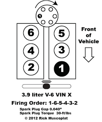 3 9 liter v6 chrysler firing order ricks free auto repair advice
