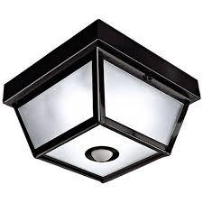 Outdoor Ceiling Lighting by Benson Black 9 1 2
