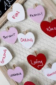Homemade Valentine Decorations by Diy Valentine Decorations Chalkboard Clothespins Live Craft Love