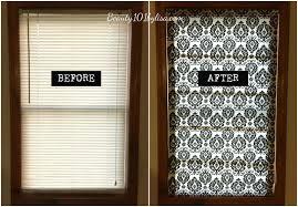beauty101bylisa diy no sew lined roman shades using mini blinds