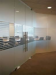 frosted glass office door glass door and window into conference room commercial glass