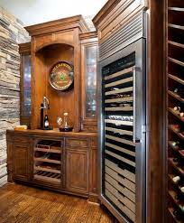 Temperature Controlled Wine Cellar - kitchen wine cooler refrigerator large stainless steel wine
