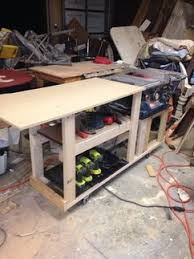 diy table saw stand with wheels table saw table plans handmade table saw table