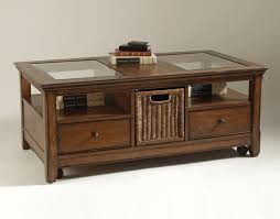 fair wooden coffee tables with glass top with additional interior