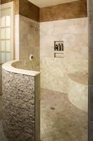 Open Showers No Doors 75 Creative Shower With Mosaic Tile Ideas Tile Ideas Mosaics