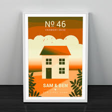 house warming present personalised house warming gift moving house gift first home