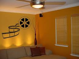 Home Theatre Wall Decor Big Movie Film Reel Vinyl Wall Decal For Home Theater By Idgrams
