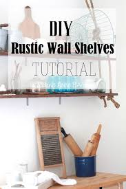 How To Make Wall Shelves Temporary Diy Wall Treatment Ideas For Renters