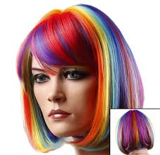 What Color To Dye Your Hair Red Colored Wigs Wigs By Unique