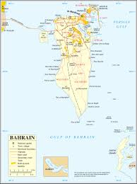 Central And Northern Asia Map by Maps Of Bahrain Detailed Map Of Bahrain In English Tourist Map