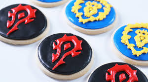 how to make warcraft cookies nerdy nummies youtube