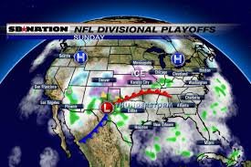 Dallas Weather Map by Nfl Weather Forecast Divisional Playoffs 2017 Ice Storm Warnings