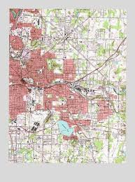 of akron map akron east oh topographic map topoquest
