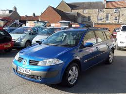 renault megane 2004 blue used renault megane and second hand renault megane in north yorkshire