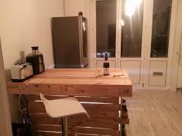 cuisine en palette bois meuble cuisine ilot central best of ilot central de cuisine bar en