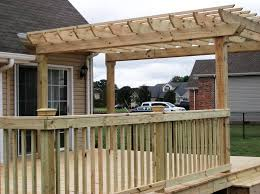 Pergola Deck Designs by Amazing Designs Of Pergola On Deck U2014 All Home Design Ideas