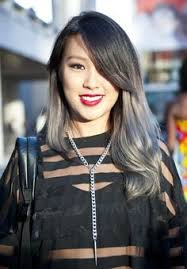 salt and pepper hair with lilac tips best 25 asian hair grey ideas on pinterest asian hair grey