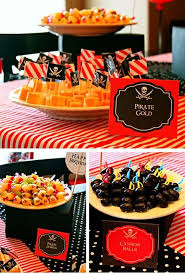 pirate party ideas pirate party idea by ben shiham the olives on swords and