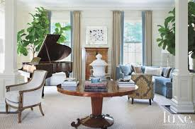piano in living room traditional white living room with mahogany piano luxe interiors