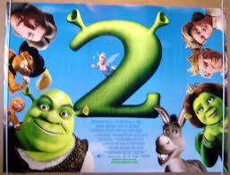 shrek 2 original cinema movie poster pastposters