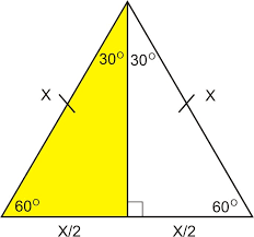 special right triangles 30 60 90 ck 12 foundation