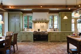 southwestern kitchen with amazing green kitchen cabinets home