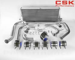 complete front mount intercooler kit for toyota starlet glanza