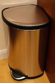 Kitchen Garbage Can With Lid by Simplehuman Tall Trash Can Totally Worth 140 Popsugar Home