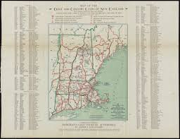 Map Of New England by Hodgman U0027s New Map Showing Location And Classification Golf And