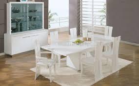 dining room table white dining room white dining room set high gloss finish contemporary