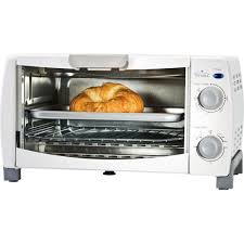 4 Slice Toasters On Sale Rival 4 Slice Toaster Oven White Walmart Com